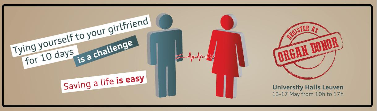 Connect 4 life – Vastgebonden voor 500 nieuwe orgaandonoren