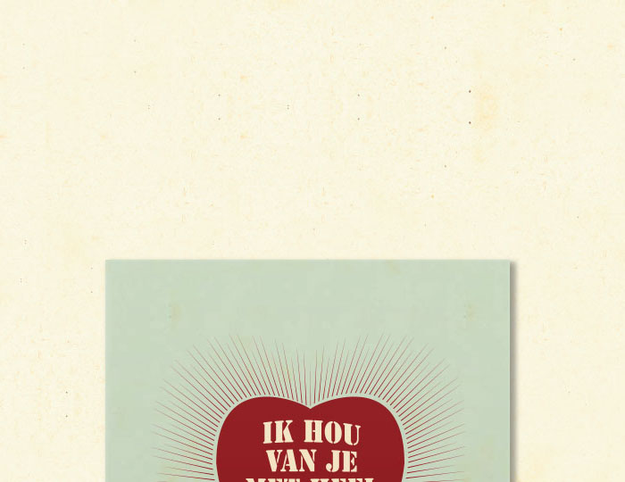Brochure 'Ik hou van je met heel m'n hart'