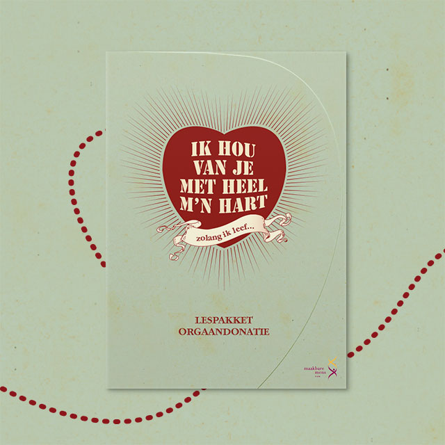 Lespakket 'Ik hou van je met heel m'n hart'