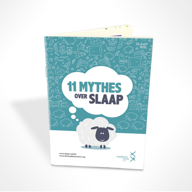 Brochure '11 mythes over slaap'