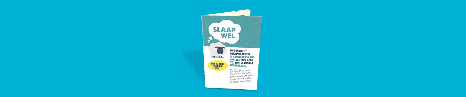 Folder Slaaptips voor tieners (en hun ouders)