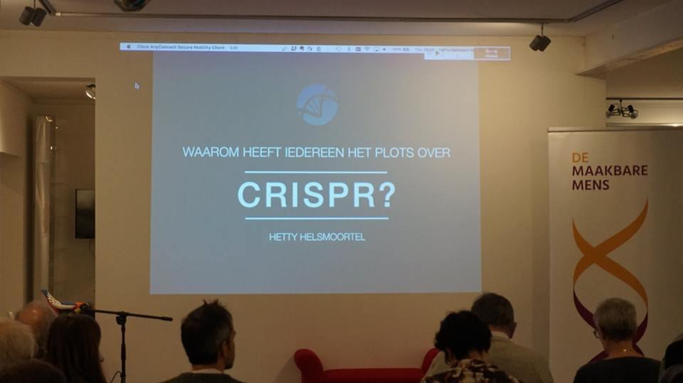 Verslag: Waarom heeft iedereen het plots over CRISPR?