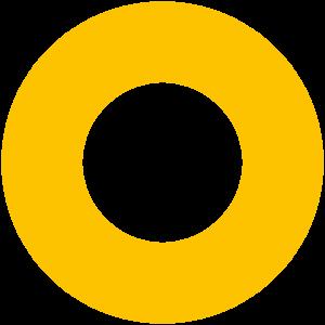 Cirkel De Maakbare Mens geel