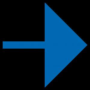 pijl rechts - donkerblauw