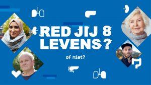 Introbanner_campagnebeeld Red jij 8 levens orgaandonatie