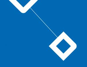 Tegel ruiten_blauw wit