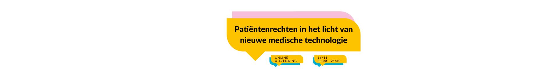Patiëntenrechten in het licht van geavanceerde medische technologie