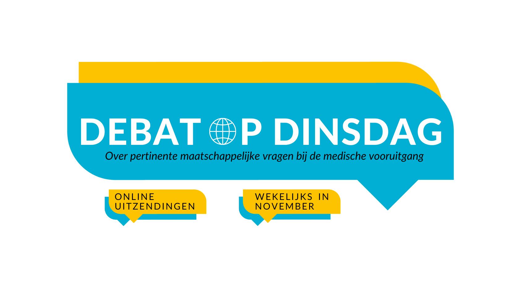 Online | Debat op Dinsdag. Tickets nu beschikbaar!